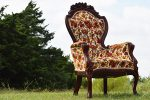 Johnny Floral Vintage Chair
