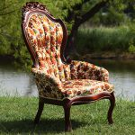 June Floral Vintage Chair